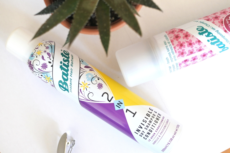 Review: Batiste 2in1 Invisible Dry Shampoo & Conditioner