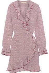 Ruffle Wrap Dress 2